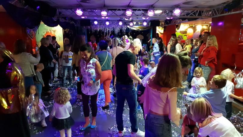 Сопровождение детей на взрослых праздниках