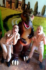Dinosaurier Dinoparty