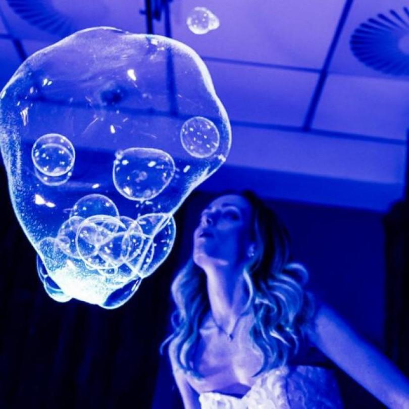 Seifenblasen Show