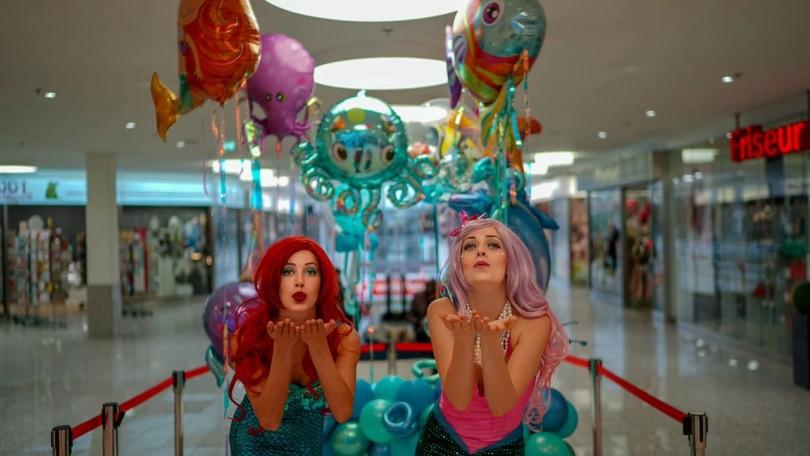 Meerjungfrauen Party
